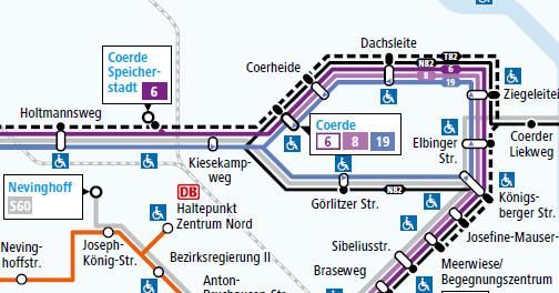 Wir In Coerde Busverbindungen Streckenübersicht