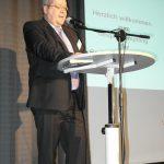 Manfred Igelbrink, Bezirksbürgermeister Münster-Nord beim Neujahrsempfang der BV-Nord 2013