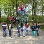 Die Klasse 6a der Waldschule Kinderhaus