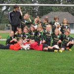 U9-Mädchenfußballmannschaft