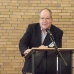 Manfred Igelbrink, Bezirksbürgermeister Münster-Nord beim Neujahrsempfang der BV-Nord 2014
