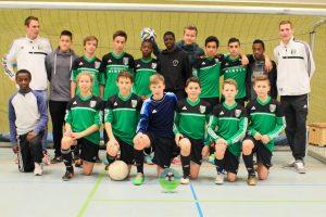 Westfalias C1-Fußballer siegen in Coesfeld2014