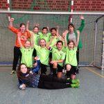 U11-Fußballerinnen gewinnen Volksbank Baumberge-Cup