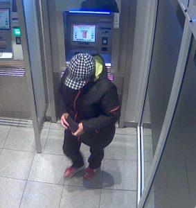 Das Foto zeigt die unbekannte Person. Foto: Polzei Münster