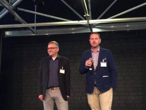 Die Organisatoren Heiko Philippski und Marc Weßeling