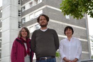 Anna-Maria Dadun, Marco Niemann und Annette von Bischopink. - Foto: Stadt Münster