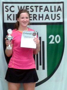 Bild: Jule Koschinski gewinnt sechs Kreismeistertitel