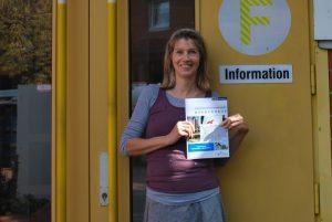 Frauke Popken vom Stadtplanungsamt präsentiert den Abschlussbericht zum Entwicklungskonzept Kinderhaus. Foto: Stadt Münster.