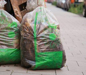 Foto: Gartenabfallsäcke dürfen nicht mehr mit Kleintierstreu befüllt werden. Foto: Stadt Münster.