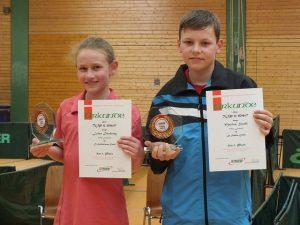 Die Sieger: Luisa Düchting und Marius Strahl