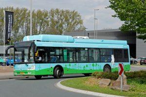 In der letzten Woche haben die Stadtwerke Münster einen Elektrobus mit Wasserstofftank getestet. Foto: Stadtwerke Münster