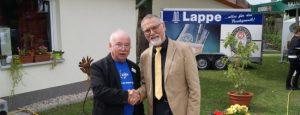 Stellvertretende Bezirksbürgermeister Werner Abbing übermittelte Grüße der Bezirksvertretung Nord