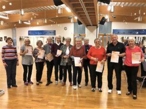 """Tanzsportgruppe """"Tanz mit - Bleib fit"""". Foto: Juliane Pladek-Stille"""