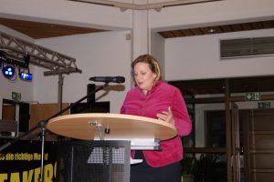 Landtagsabgeordnete Simone Wendland.