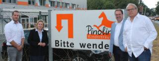 V.l.: Dr. Müller-Wienbergen, Wendland, Bloch und Nolte.