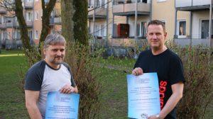 (V.l.n.r) Heiko Philippski, Marc Weßeling