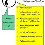 Foto: Polizei Münster (Das Foto zeigt eine Karte, die immer wieder an die miesen Betrüger erinnern soll).