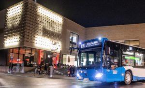 Foto: Der kostenlose Nahverkehr an den Adventssamstagen kommt in Münster sehr gut an. Foto: Stadtwerke Münster.