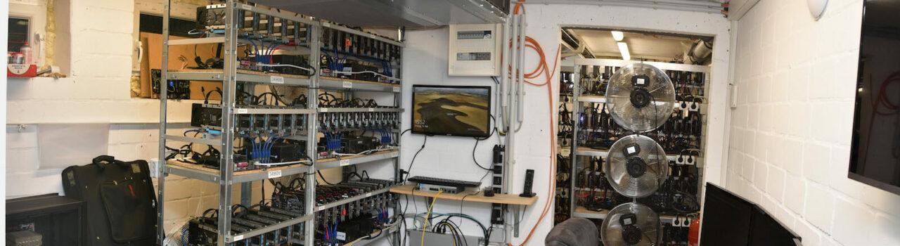 Serverraum. Foto: Polizei Münster.